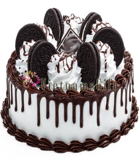 Choco-Cookie Cake